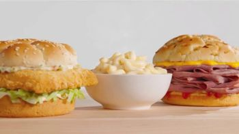 Arby's 2 for $6 Faves You Crave TV Spot, 'Mac-n-Cheesy' Song by YOGI - Thumbnail 1