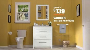 The Home Depot Days of Doing Bath Event TV Spot, 'Doing Gets Done: Vanities' - Thumbnail 10
