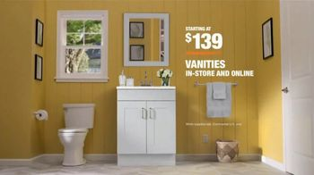 The Home Depot Days of Doing Bath Event TV Spot, 'Doing Gets Done: Vanities' - Thumbnail 9
