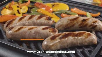 Granite Stone Smokeless Grill TV Spot, 'It Just Doesn't Stick: Great Tasting Barbecue'