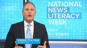 The News Literacy Project TV Spot, 'Court TV: Watch out for Bots' Featuring Vinnie Politan - Thumbnail 3