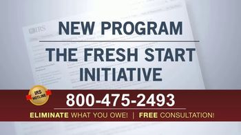 IRS Hotline TV Spot, 'Fresh Start Initiative'