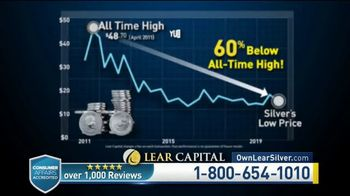Lear Capital TV Spot, 'Silver Savings: Up to $2000 Free'