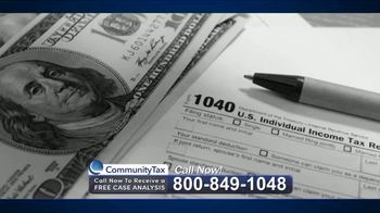 Community Tax TV Spot, 'Back Taxes' - Thumbnail 1