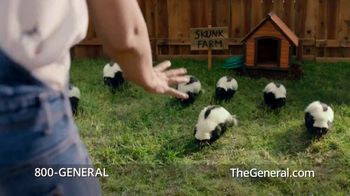 The General TV Spot, 'The General Skunk' Featuring Shaquille O'Neal - Thumbnail 4
