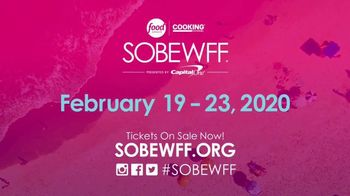 South Beach Wine and Food Festival TV Spot, 'Get Tickets Now: 2020' - Thumbnail 9