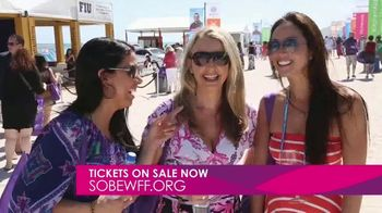 South Beach Wine and Food Festival TV Spot, 'Get Tickets Now: 2020' - 120 commercial airings