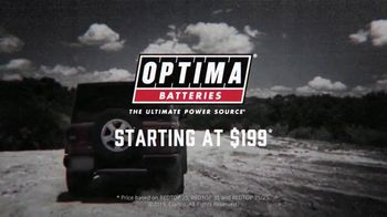 Optima YELLOWTOP Batteries TV Spot, 'Bullet Test' - Thumbnail 10