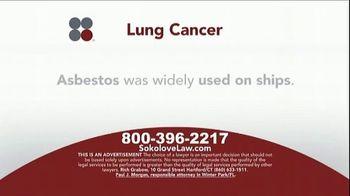 Sokolove Law TV Spot, 'Lung Cancer: Asbestos Exposure' - Thumbnail 3