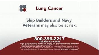 Sokolove Law TV Spot, 'Lung Cancer: Asbestos Exposure' - Thumbnail 4