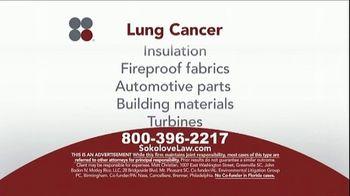 Sokolove Law TV Spot, 'Lung Cancer: Asbestos Exposure' - Thumbnail 5