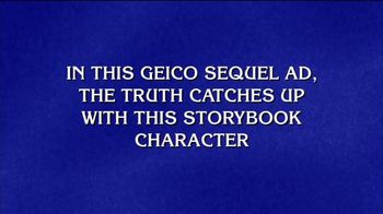 GEICO TV Spot, 'Jeopardy! Question' - Thumbnail 3