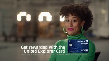 United Explorer Card TV Spot, 'Rewarded' Featuring Tracee Ellis Ross