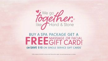 Hand & Stone TV Spot, 'Valentine's Day: We Go Together: Spa Package' - Thumbnail 7