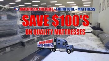 American Freight TV Spot, 'Save Hundreds on Mattresses'