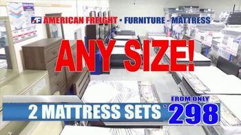 American Freight TV Spot, 'Save Hundreds on Mattresses' - Thumbnail 8