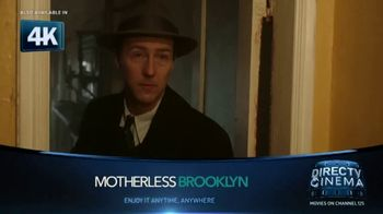 DIRECTV Cinema TV Spot, 'Motherless Brooklyn' - Thumbnail 1
