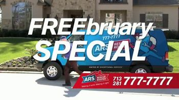 ARS Rescue Rooter FREEbruary Special TV Spot, 'Get It Free'