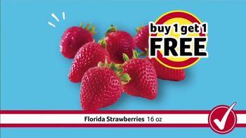 Winn-Dixie TV Spot, 'Savings Bowl: Baby Back Ribs and Strawberries'