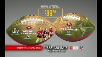 Big Time Bats TV Spot, 'SF 49ers Super Bowl LIV Footballs' - Thumbnail 8