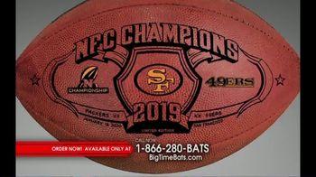 Big Time Bats TV Spot, 'SF 49ers Super Bowl LIV Footballs'
