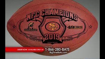 Big Time Bats TV Spot, 'SF 49ers Super Bowl LIV Footballs' - Thumbnail 2