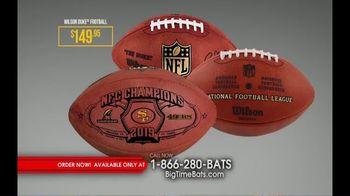 Big Time Bats TV Spot, 'SF 49ers Super Bowl LIV Footballs' - Thumbnail 3