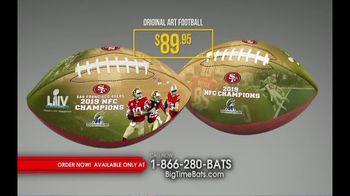 Big Time Bats TV Spot, 'SF 49ers Super Bowl LIV Footballs' - Thumbnail 4