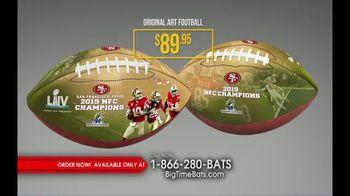 Big Time Bats TV Spot, 'SF 49ers Super Bowl LIV Footballs' - Thumbnail 5