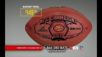 Big Time Bats TV Spot, 'SF 49ers Super Bowl LIV Footballs' - Thumbnail 7