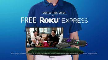 GolfPass TV Spot, 'Free Roku Express