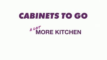 Cabinets To Go Buy More Save More Sale TV Spot, 'Less Dough' - Thumbnail 1
