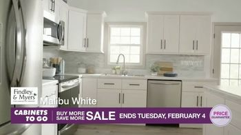 Cabinets To Go Buy More Save More Sale TV Spot, 'Less Dough' - Thumbnail 4