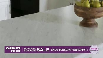 Cabinets To Go Buy More Save More Sale TV Spot, 'Less Dough' - Thumbnail 5
