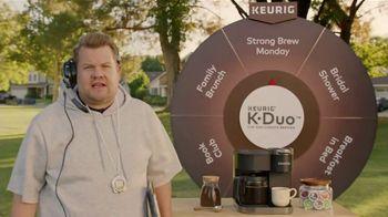 Keurig K-Duo TV Spot, 'Pep Talk' Featuring James Cordon - 8 commercial airings