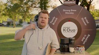 Keurig K-Duo TV Spot, 'Pep Talk' Featuring James Cordon - Thumbnail 1