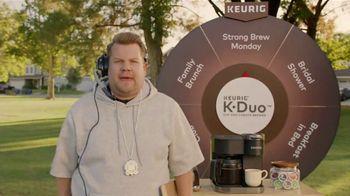Keurig K-Duo TV Spot, 'Pep Talk' Featuring James Cordon