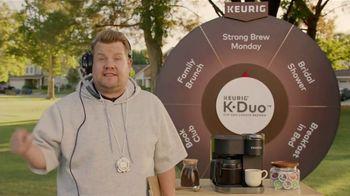 Keurig K-Duo TV Spot, 'Pep Talk' Featuring James Cordon - Thumbnail 4
