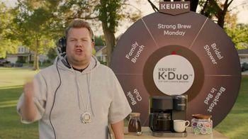 Keurig K-Duo TV Spot, 'Pep Talk' Featuring James Cordon - Thumbnail 7