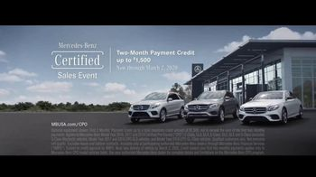Mercedes-Benz Certified Pre-Owned Sales Event TV Spot, 'Or It Isn't: Never Settle' [T2] - Thumbnail 6