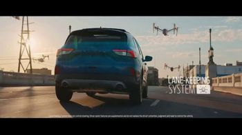 2020 Ford Escape TV Spot, 'Focused: The Road Ahead' [T1] - Thumbnail 4