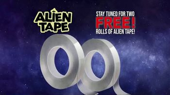 Alien Tape TV Spot, 'Holds up to 17 Pounds' - Thumbnail 1