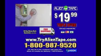 Alien Tape TV Spot, 'Holds up to 17 Pounds' - Thumbnail 6