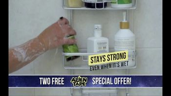 Alien Tape TV Spot, 'Holds up to 17 Pounds' - Thumbnail 3