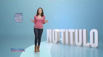 TitleMax TV Spot, 'Préstamo personal: más efectivo' [Spanish] - Thumbnail 1