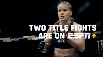 ESPN+ UFC 247 TV Spot, 'Two Championship Fights: Jones vs. Reyes' Song by JF - 807 commercial airings