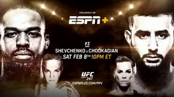 ESPN+ UFC 247 TV Spot, 'Two Championship Fights: Jones vs. Reyes' Song by JF - Thumbnail 9