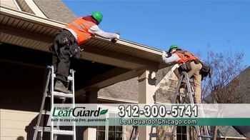 LeafGuard of Chicago 99 Cent Install Sale TV Spot, 'Soaked Roof Decking'