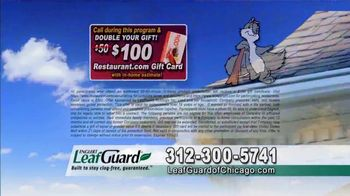 LeafGuard of Chicago 99 Cent Install Sale TV Spot, 'Soaked Roof Decking' - Thumbnail 7