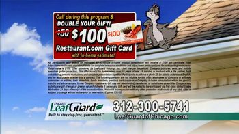 LeafGuard of Chicago 99 Cent Install Sale TV Spot, 'Soaked Roof Decking' - Thumbnail 8